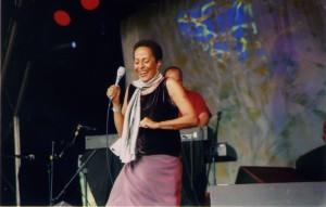 Afro- Peruvian singer Susana Baca